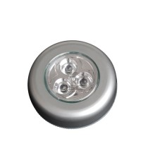PUSH-LIGHT 3LEDS. 3 PILAS R3 (AAA) - BLÍSTER
