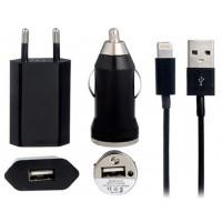 CARGADOR MICRO USB COCHE PARED DATOS NE DEXLER