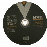 DISCO CORTE INOXIDABLE 230X6X22 NIVEL