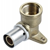 CODO HEMBRA A PARED MULTICAPA 20 - 3/4 FITTING STANDARD