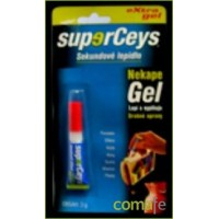 ADHESIVO INSTANTANEO GEL 3 GRAMOS  SUPERCEYS GEL